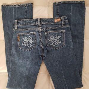 PAIGE Laurel Canyon Boot Cut Jeans Size 25